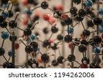 plastic molecule educational... | Shutterstock . vector #1194262006