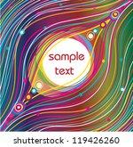 abstract vector background | Shutterstock .eps vector #119426260