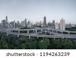aerial view of buildings and... | Shutterstock . vector #1194263239