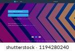 user interface for big data...   Shutterstock .eps vector #1194280240