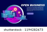 smart business background for... | Shutterstock .eps vector #1194282673