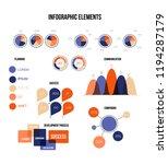 ads rating visualisation... | Shutterstock .eps vector #1194287179