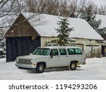 this station wagon is located... | Shutterstock . vector #1194293206