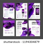 vector brochure template design ... | Shutterstock .eps vector #1194304879