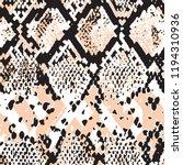 animal skin leopard pattern in... | Shutterstock .eps vector #1194310936
