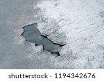 crack metal background   Shutterstock . vector #1194342676