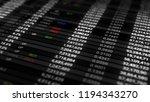 3d render abstract background... | Shutterstock . vector #1194343270