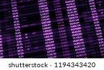 3d render abstract background... | Shutterstock . vector #1194343420