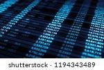 3d render abstract background...   Shutterstock . vector #1194343489