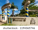 bridgetown  barbados   december ... | Shutterstock . vector #1194365746