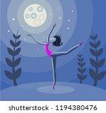 Vector Illustration Ballet...