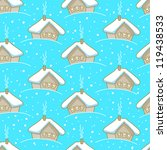 seamless winter pattern with... | Shutterstock .eps vector #119438533