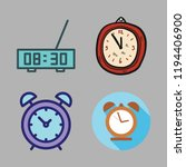 wake icon set. vector set about ... | Shutterstock .eps vector #1194406900