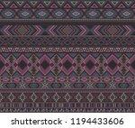 navajo american indian pattern... | Shutterstock .eps vector #1194433606