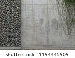 background with gray concrete... | Shutterstock . vector #1194445909