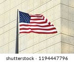 american flag in new york  usa | Shutterstock . vector #1194447796