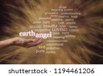 for your earth angel   in warm... | Shutterstock . vector #1194461206