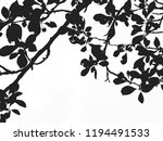 branches of plum tree with... | Shutterstock . vector #1194491533