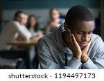 african american millennial guy ... | Shutterstock . vector #1194497173