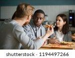 multiethnic millennial... | Shutterstock . vector #1194497266