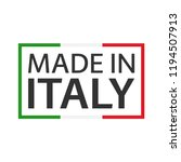 quality mark made in italy ... | Shutterstock .eps vector #1194507913