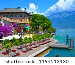 beautiful spring view of limone ... | Shutterstock . vector #1194513130