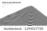 optical illusion lines... | Shutterstock .eps vector #1194517720