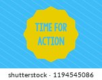 word writing text time for... | Shutterstock . vector #1194545086