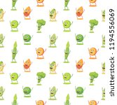 seamless pattern with high... | Shutterstock .eps vector #1194556069