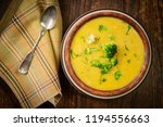 rustic hearty broccoli and... | Shutterstock . vector #1194556663