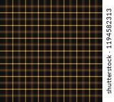 halloween tartan plaid.... | Shutterstock .eps vector #1194582313