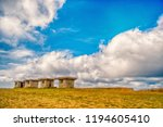 small stony building or little... | Shutterstock . vector #1194605410