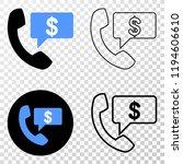 financial phone message eps...   Shutterstock .eps vector #1194606610