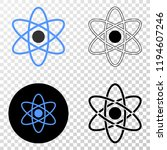 atom eps vector pictograph with ...   Shutterstock .eps vector #1194607246