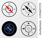 compass eps vector pictograph...   Shutterstock .eps vector #1194607270