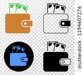 cash purse eps vector...   Shutterstock .eps vector #1194607276