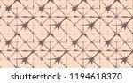 japanese kimono vector seamless ... | Shutterstock .eps vector #1194618370