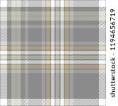 plaid design in gray  pale...   Shutterstock .eps vector #1194656719