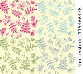 flowers pattern | Shutterstock .eps vector #119466478