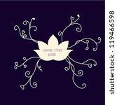 flowers text | Shutterstock .eps vector #119466598