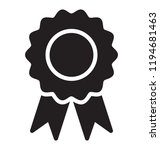 a prize badge with made by... | Shutterstock .eps vector #1194681463