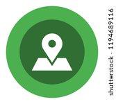 map pin vector icon   Shutterstock .eps vector #1194689116