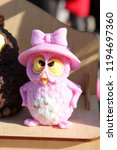 Beautiful Pink Owl Made Of Soap ...