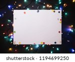 christmas background with...   Shutterstock . vector #1194699250