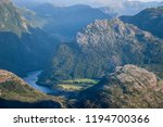 view of the mountains from the... | Shutterstock . vector #1194700366