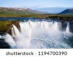 godafoss   one of the iceland... | Shutterstock . vector #1194700390