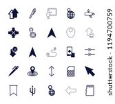 vector filled and outline icons ... | Shutterstock .eps vector #1194700759