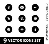 vector  filled icons such as... | Shutterstock .eps vector #1194705010