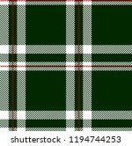 green red and white tartan...   Shutterstock .eps vector #1194744253
