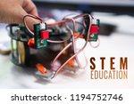 technology robotics project for ... | Shutterstock . vector #1194752746
